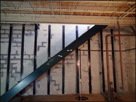 basement wall reinforcement